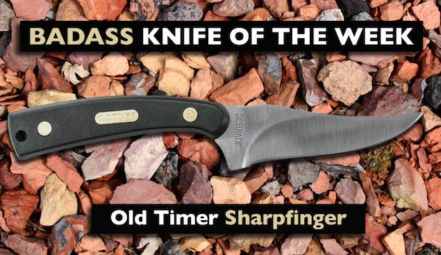 Old Timer Sharpfinger