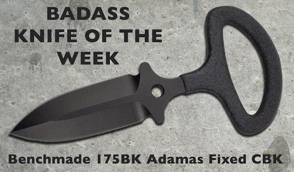 Benchmade 175BK Adamas Fixed CBK