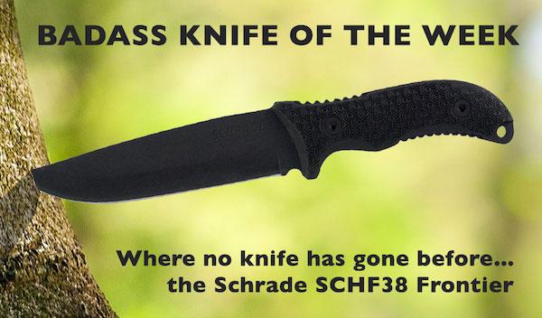 Schrade SCHF38 Frontier