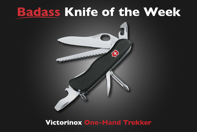Victorinox One Hand Trekker Badass Knife Of The Week