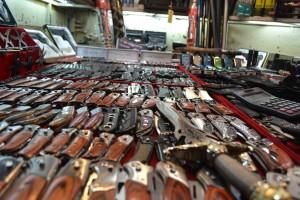 Knives at Chiang Mai Knife Market