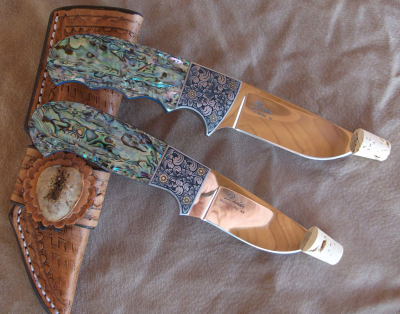 Drop Point Hunting Knives by D'alton holder