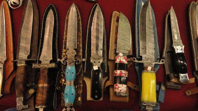 Knives by Tahar Nadim Raza