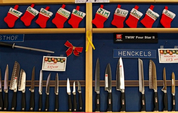 Knives for Christmas