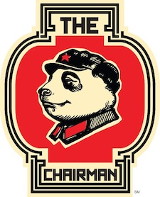 The Chairman food truck's logo