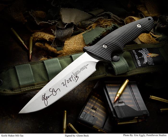 MIL-TAC CS-1 signed by Glenn Beck