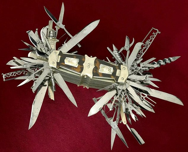 mother of swiss army knives