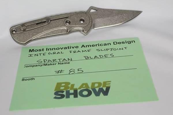 Spartan Blades Integral Frame Slipjoint