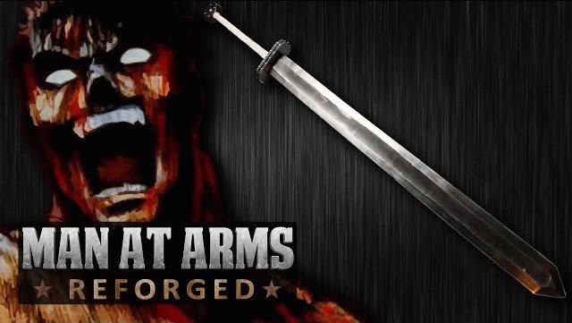 Watch 'Man at Arms: Reforged' Team Craft Massive Sword