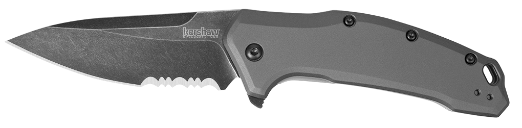 link gray blackwash serrated