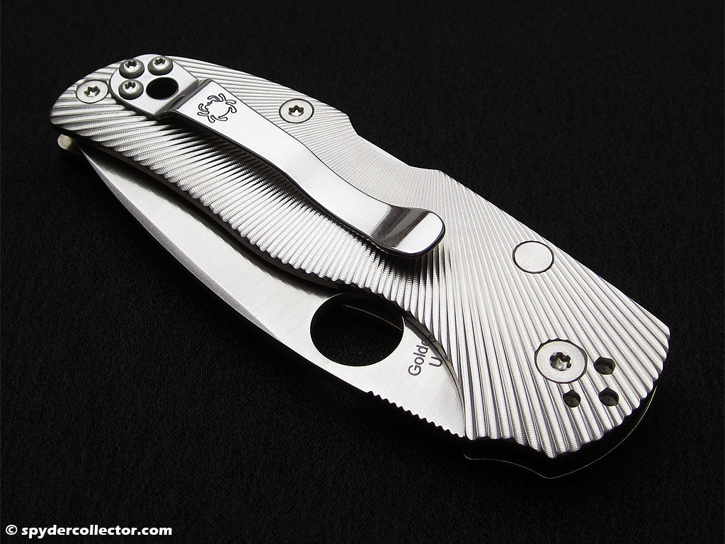 The Native 5 Fluted Titanium photographed by the spydercollector