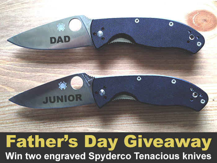 2016 Father's Day Giveaway