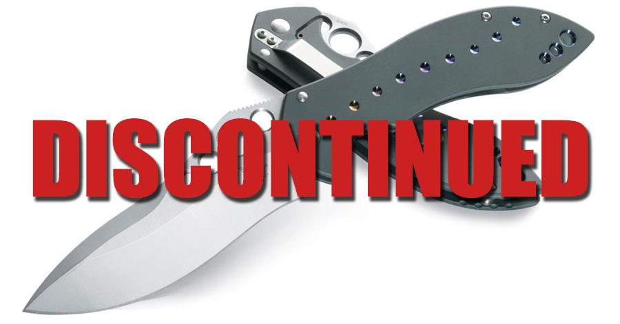 discontinued knives