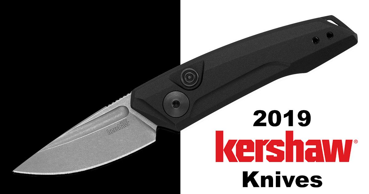 New 2019 Kershaw Knives